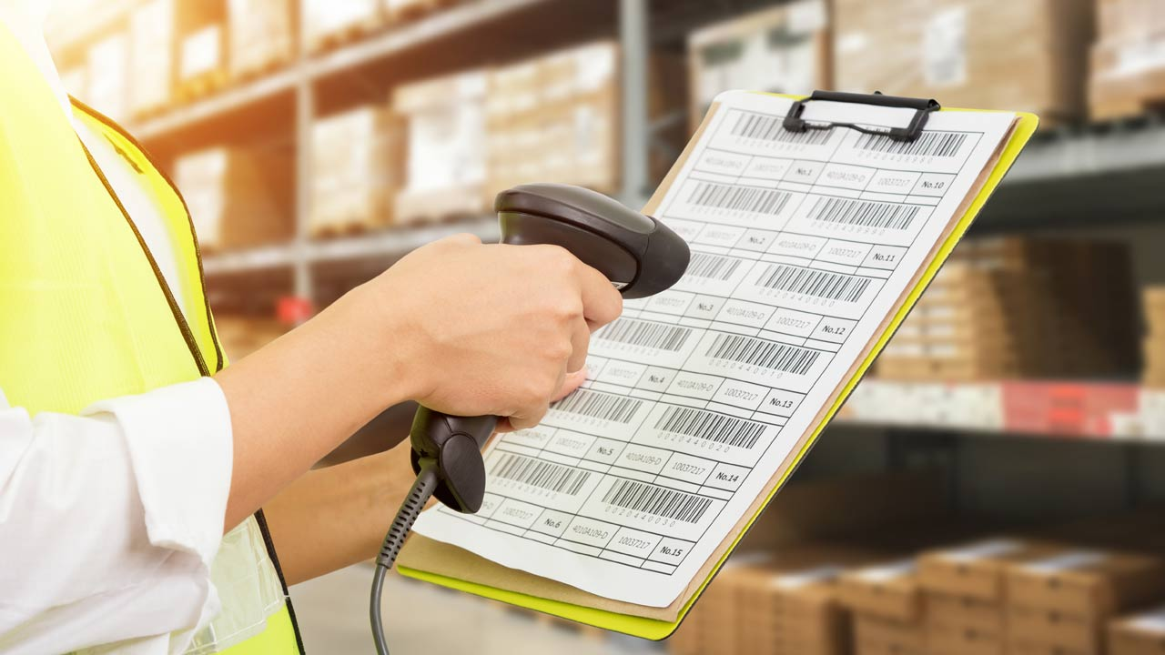 Worker barcode scanner for LED drivers