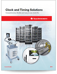 Clock & Timing overview brochure(英語)