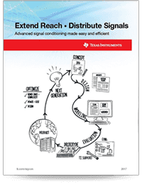 Extend Reach, Distribute Signals(英語)の表紙