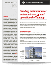 Building automation for enhanced energy and operational efficiency(英語)