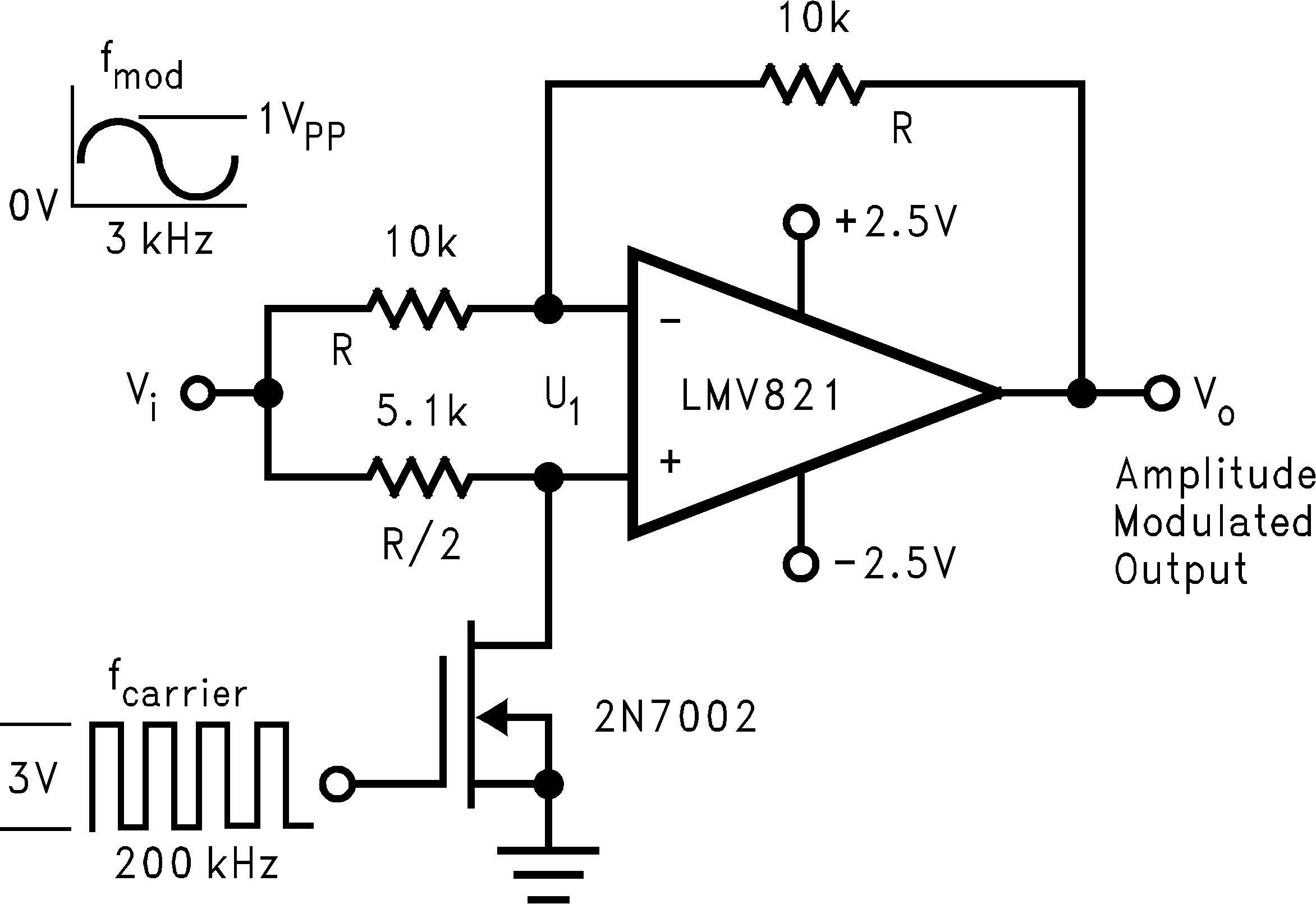 Lmv824 n q1 tij 822 simple mixer amplitude modulator publicscrutiny Gallery