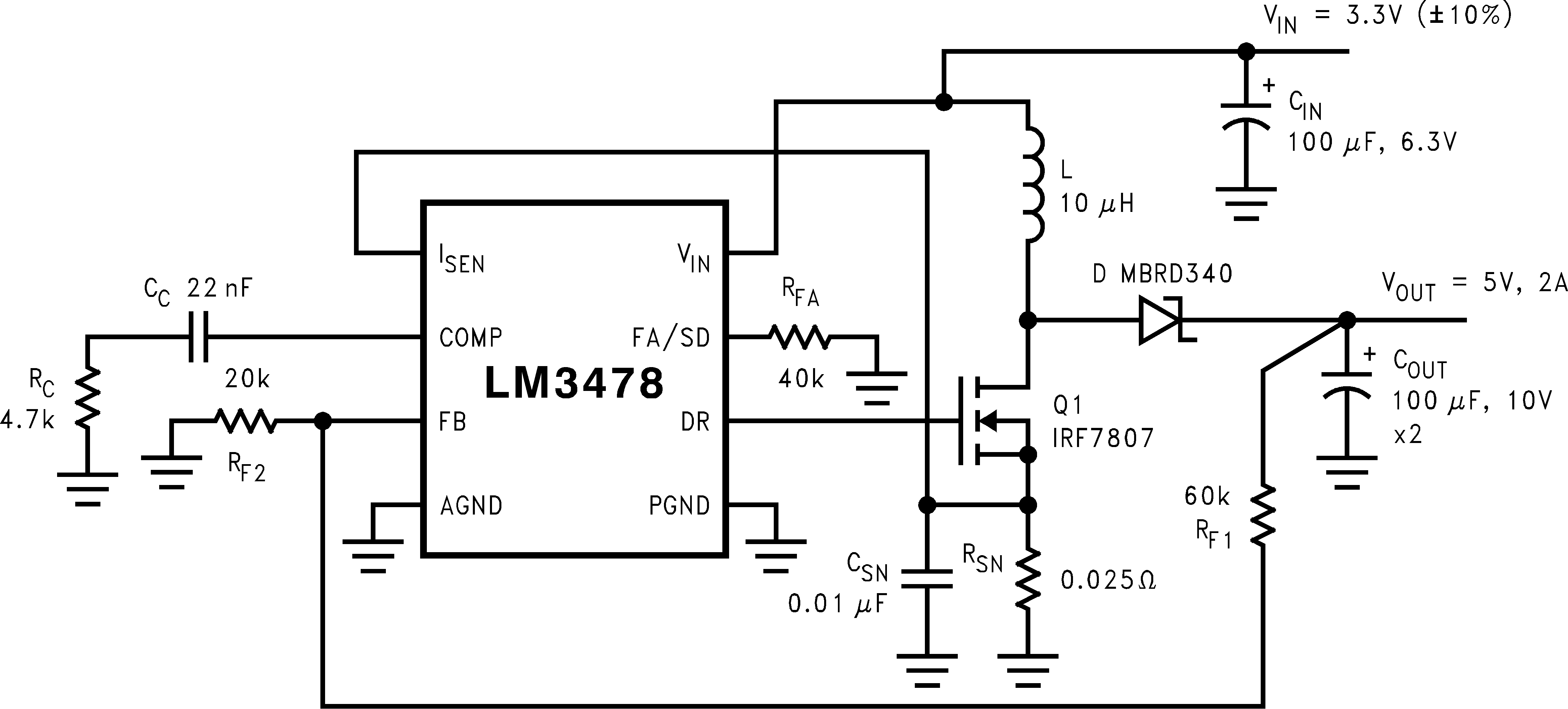 Lm3478 Circuits Charging A 500 F Capacitor It Charges Up 821 Typical High Efficiency Step Boost Converter