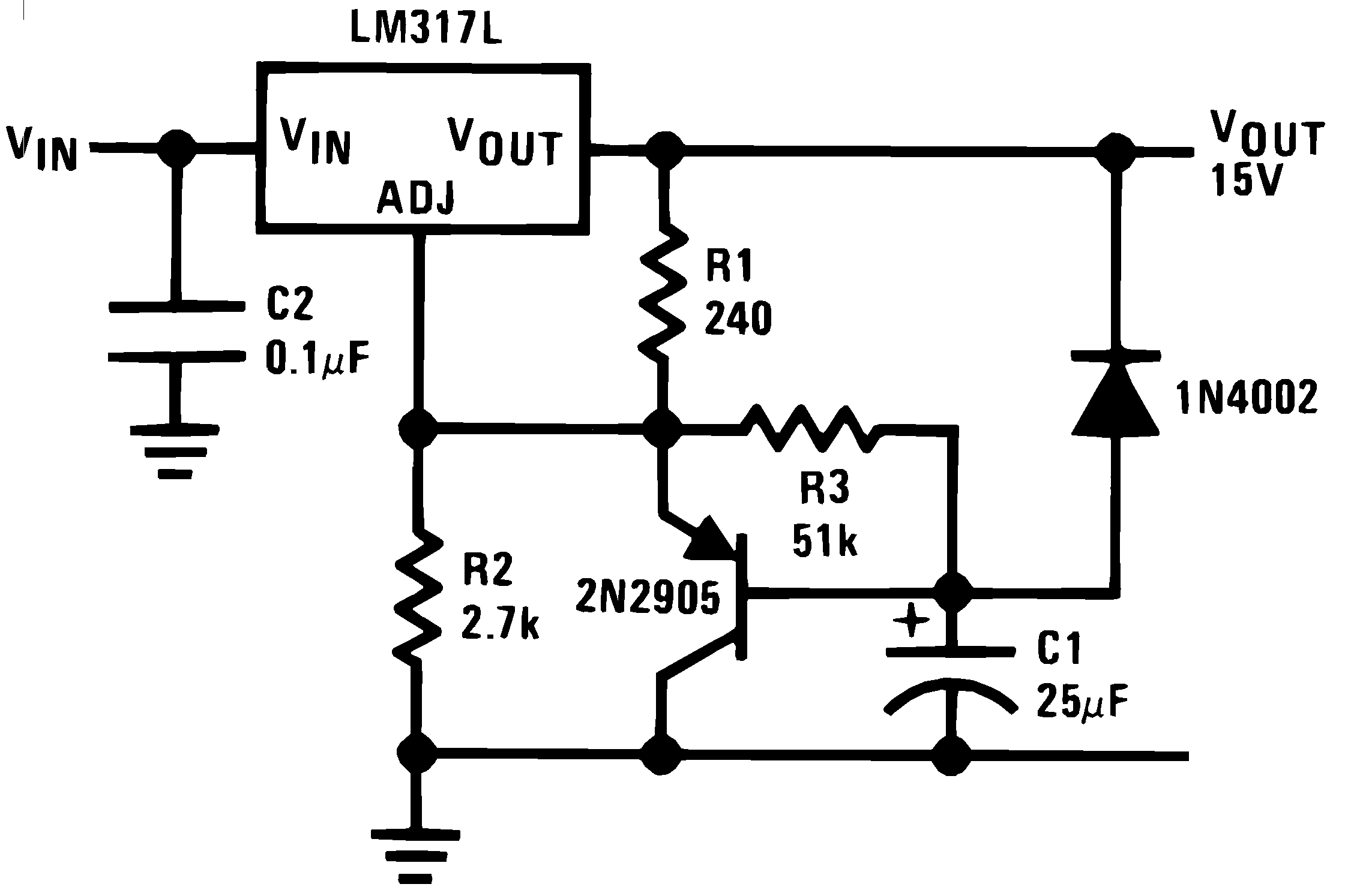 Lm317l N Basic Nicad Battery Charger Using A Single Medium Power Transistor 906415