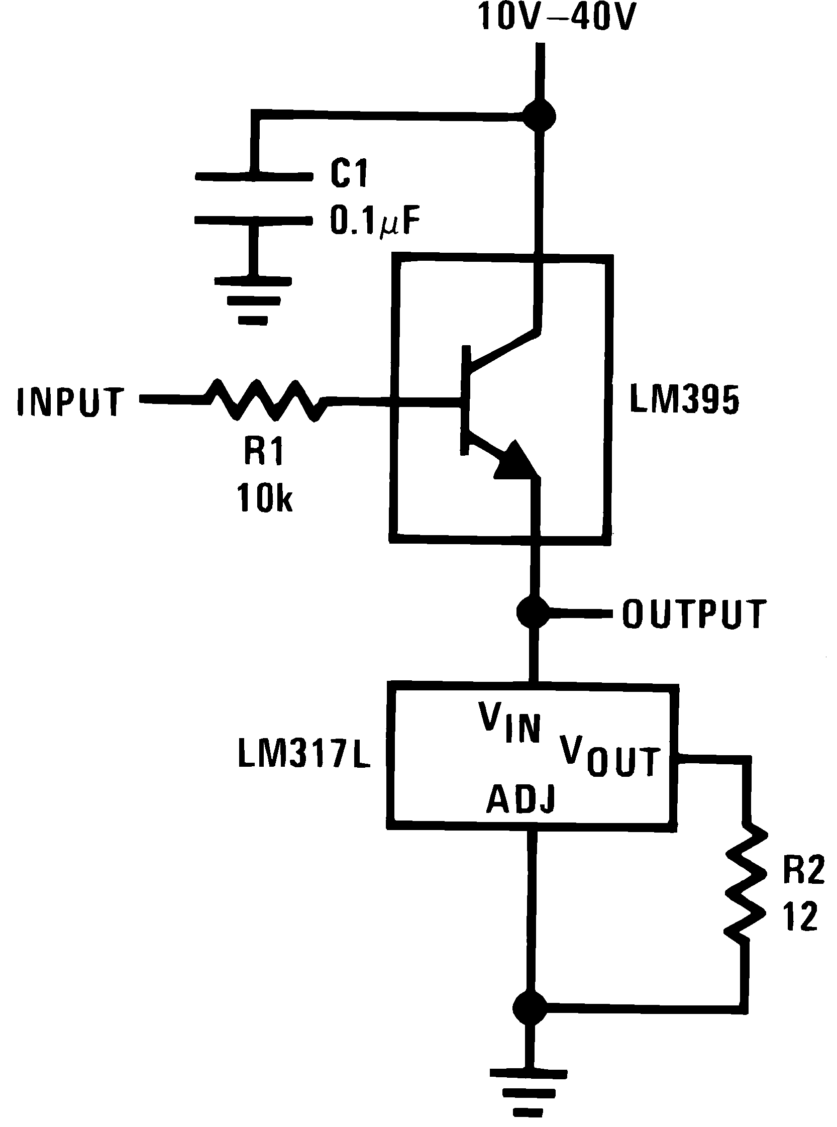 Lm317l N Lamp Flasher Using Lm317 906421