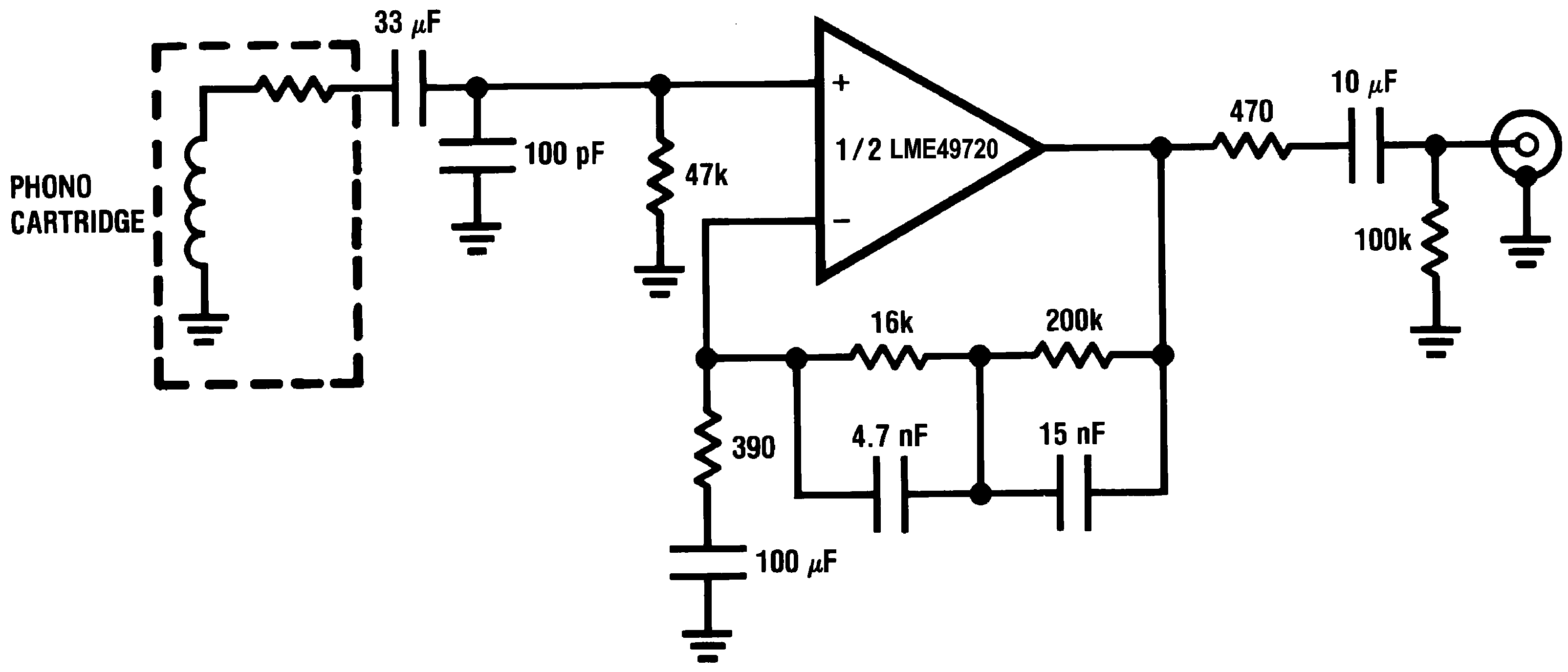 Lme49720 Riaa Equalization Circuit 30003803