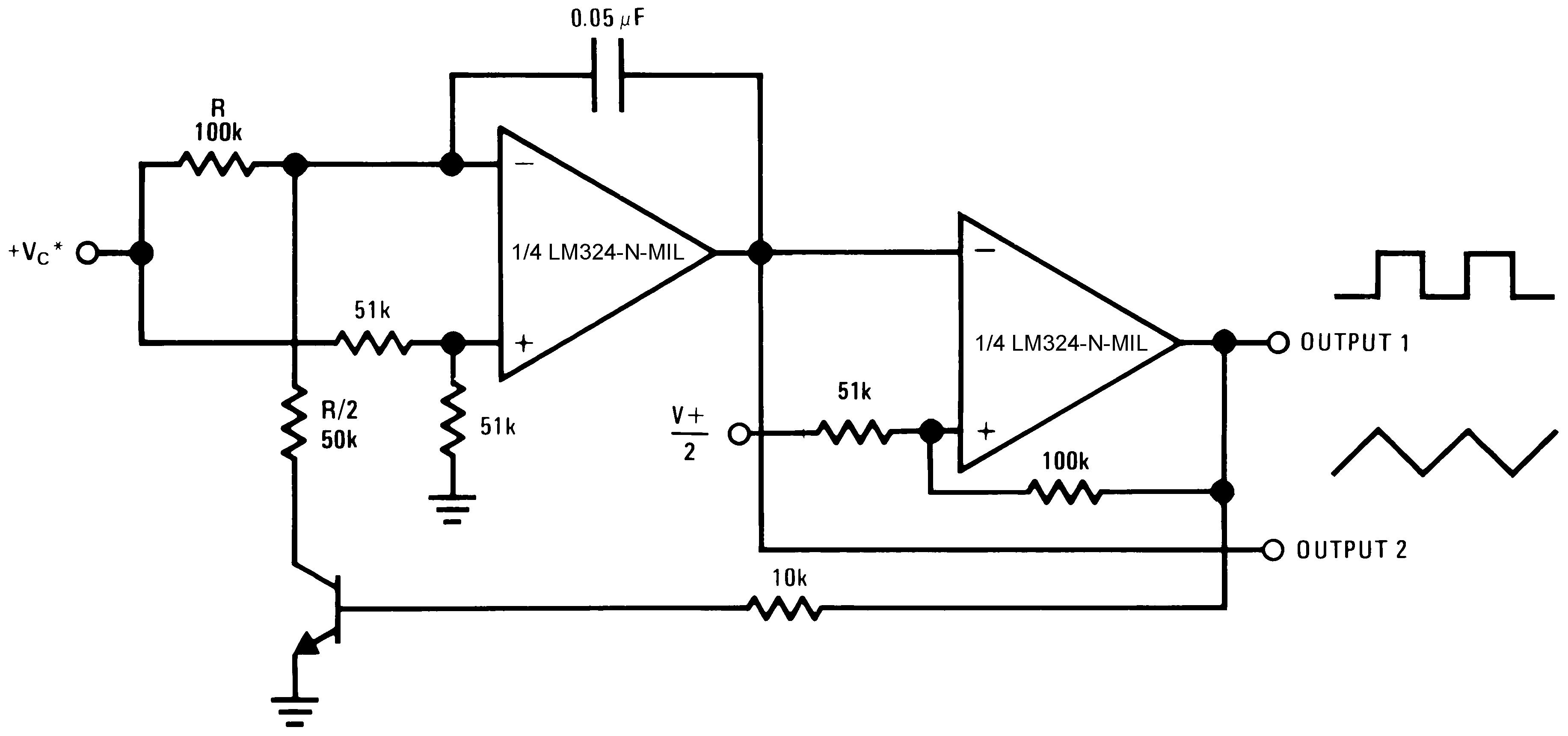 Lm324 N Mil Lm324n Circuit 929922