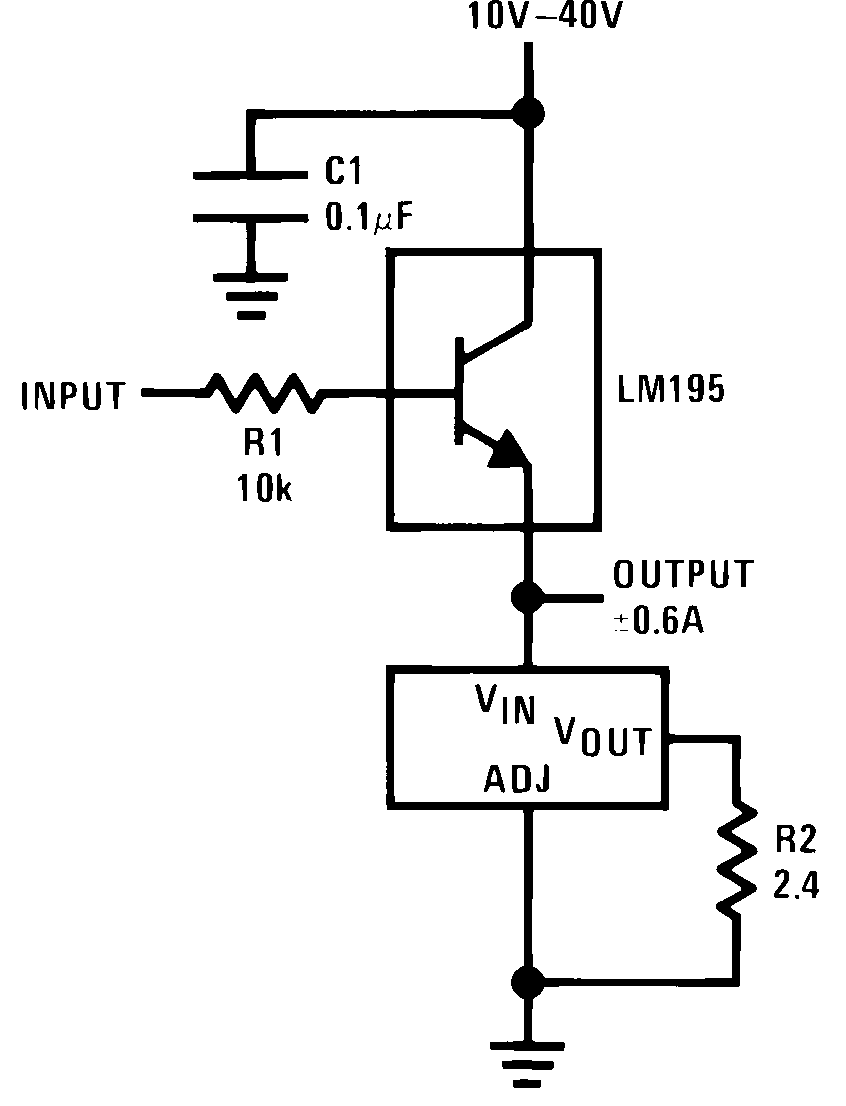 Lm317hv Mil Common Emitter Amplifier Design A Simple Approach To Determining Follower Figure 24 Current