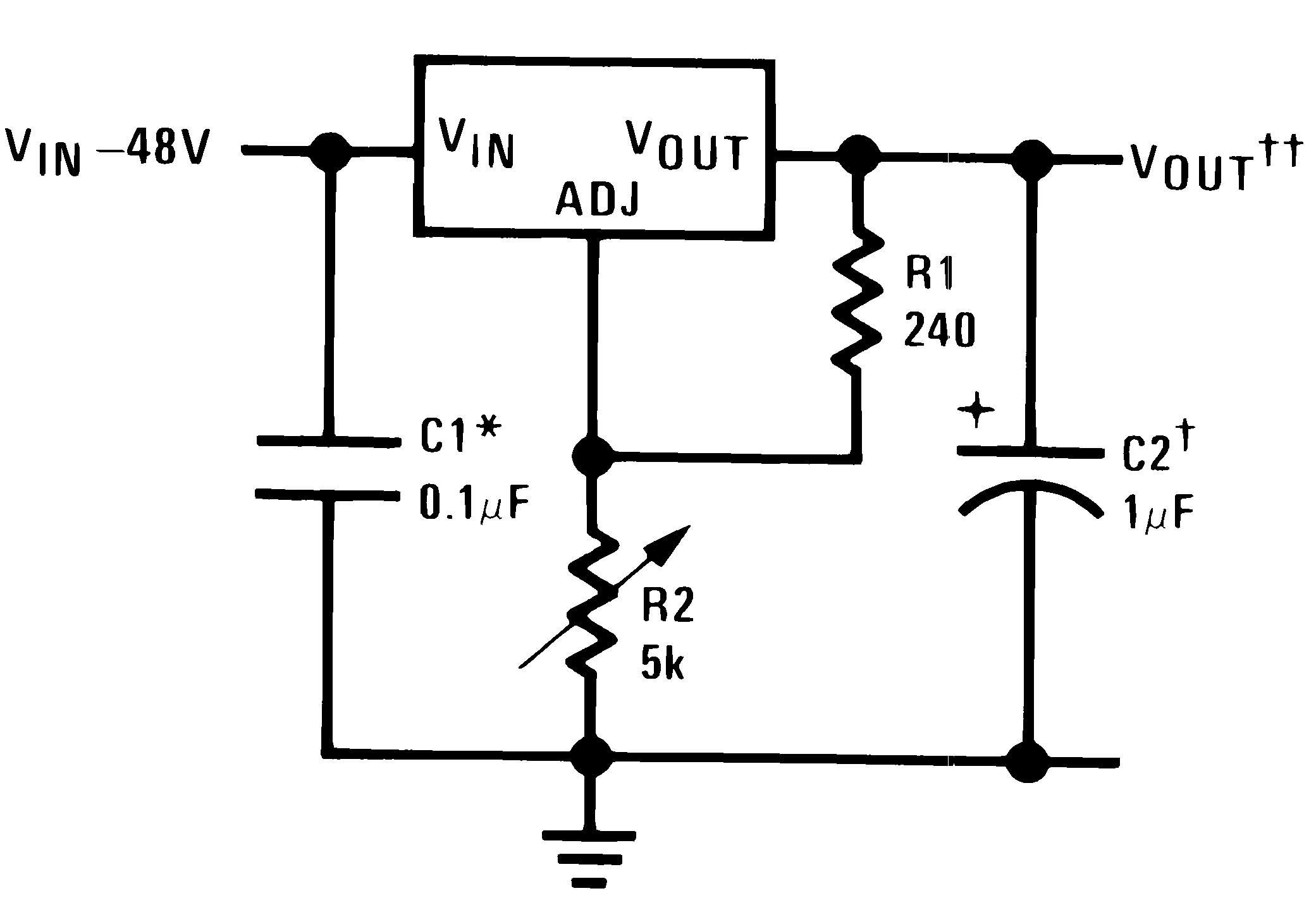 Lm317hv Mil Common Emitter Transistor Circuit Typapp1