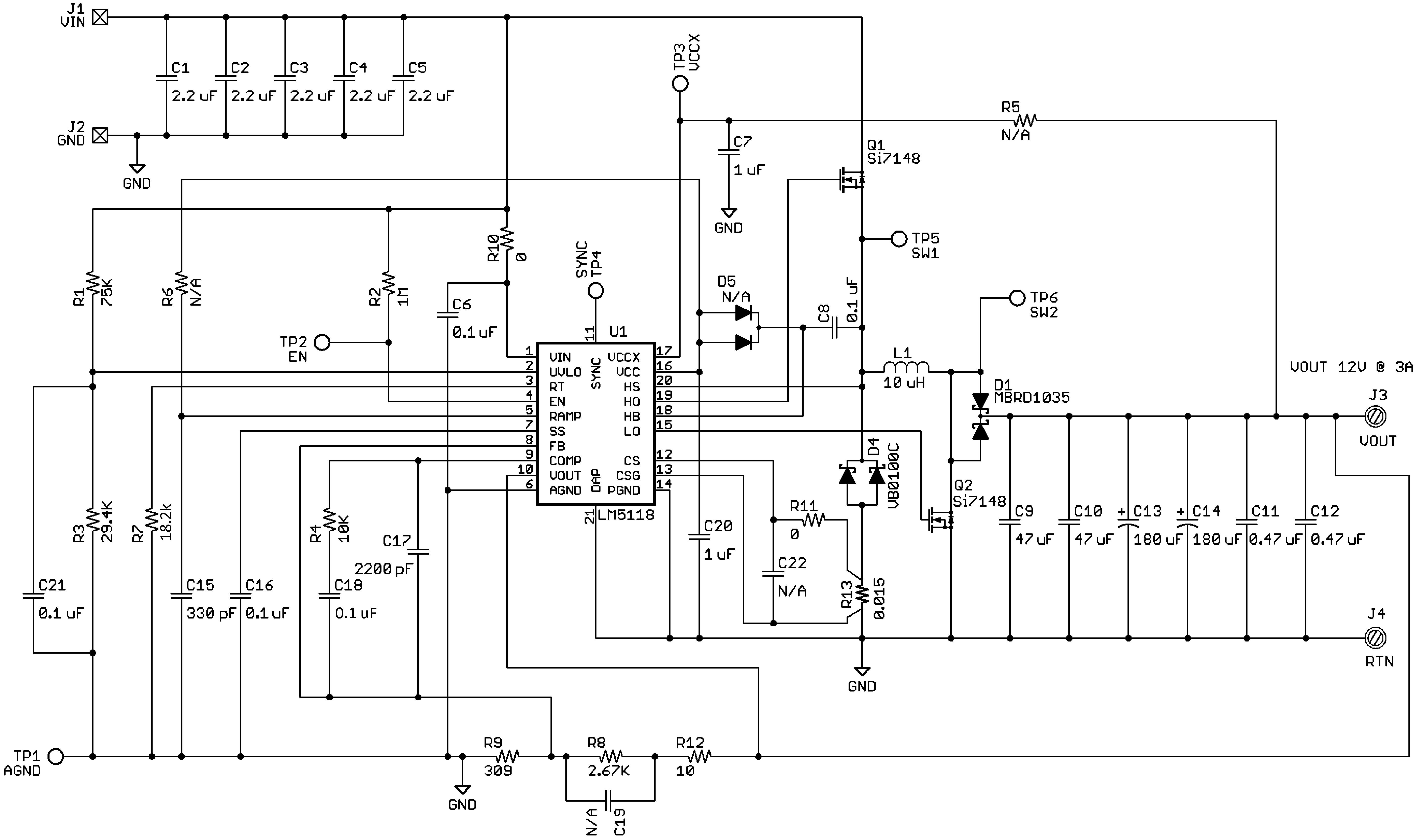 Lm5118 Q1 R13 135 Switch Wiring Diagram 30058553