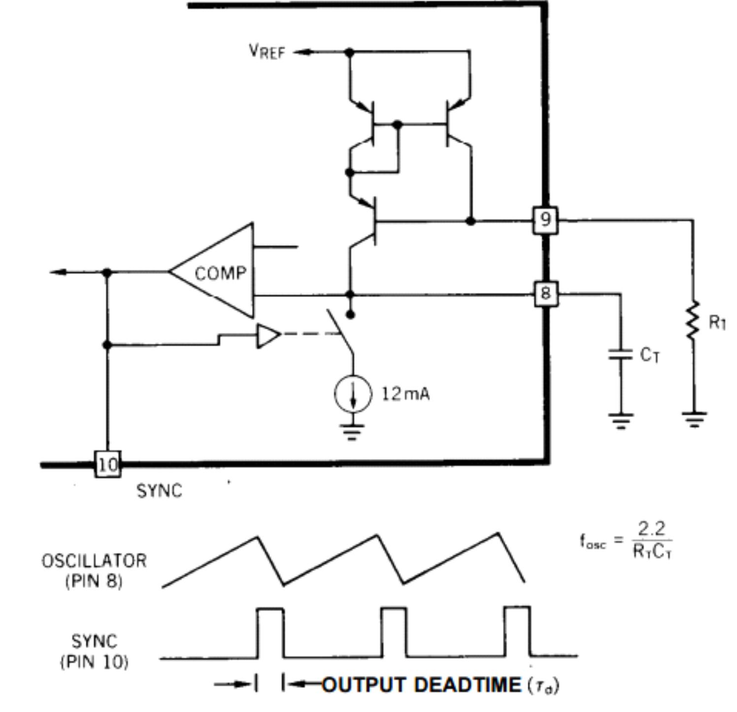 Uc2846 Pwm Basic Oscillator Circuit Uc1846 Uc1847 Uc2847 Uc3846 Uc3847 Ocillator Image Figure 4