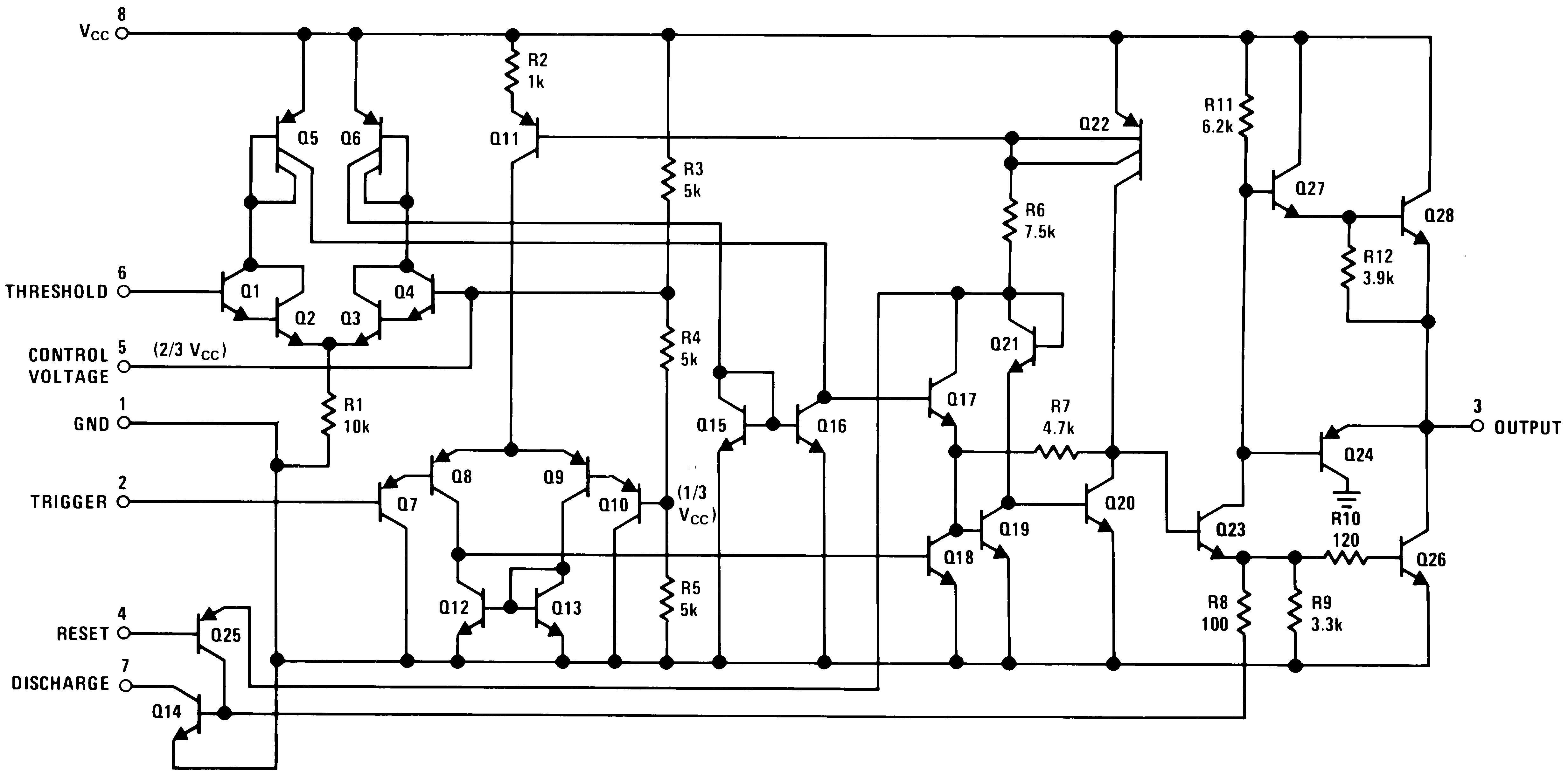 Lm555 Power On Delay Circuits By 555 Schematic Diagram