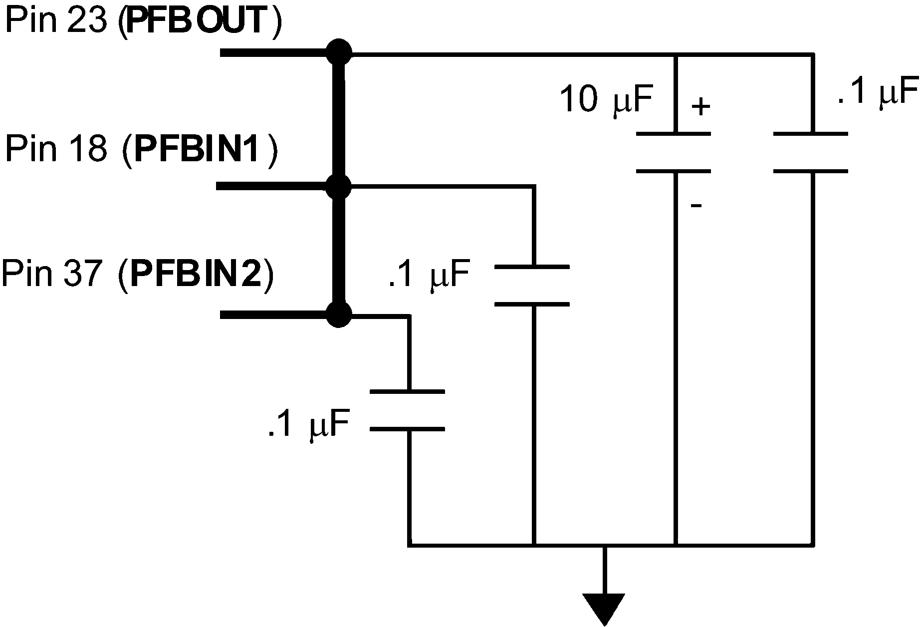 Dp83848i Circuit Diagram Of Digital Isolation And Termination Dp83848c Dp83848vyb Dp83848yb 30011713 Figure 7 4 Power Feedback Connection