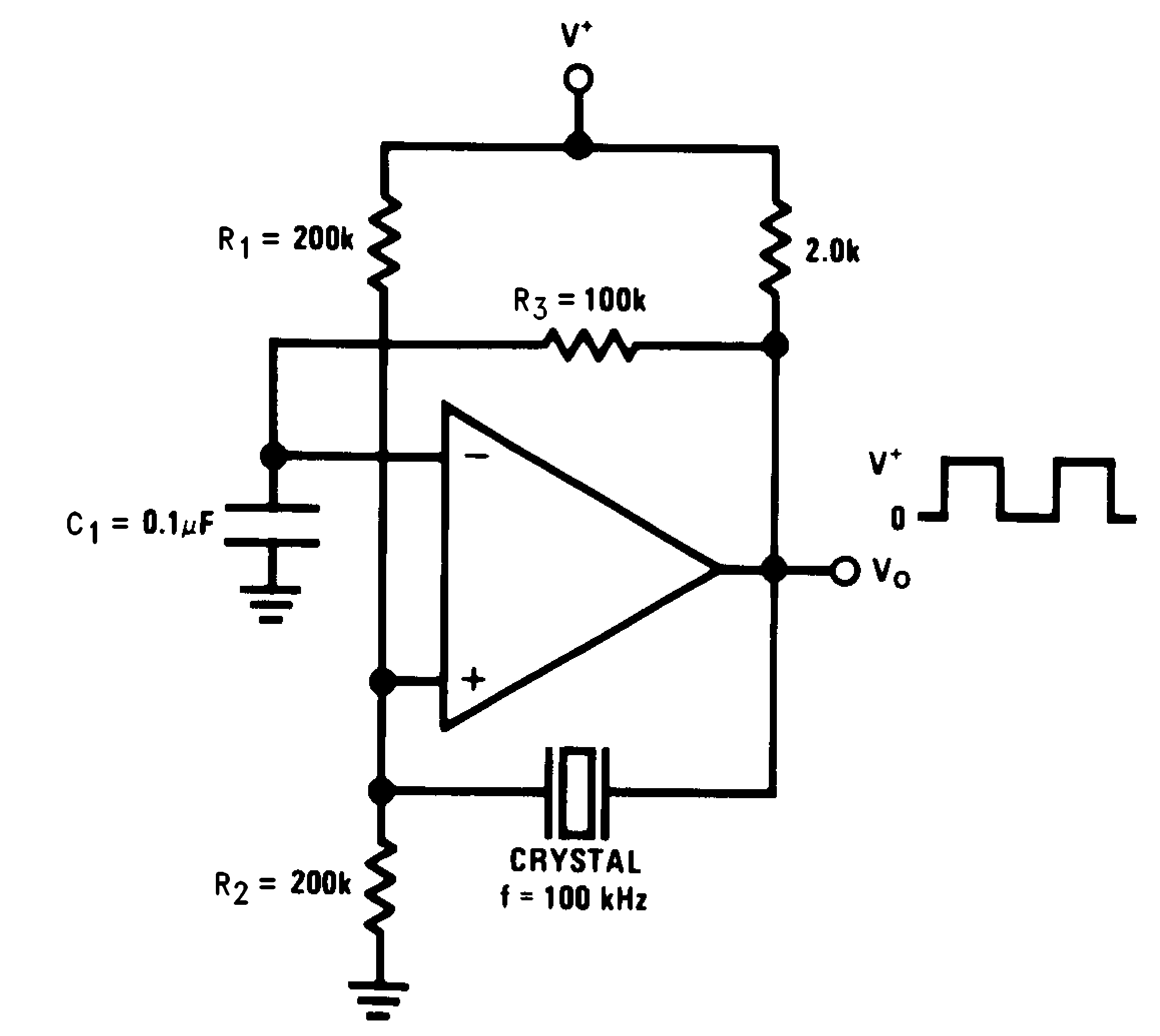 Lmv393 N Adjustabledutycycle Squarewave Oscillator Circuit Diagram Crystal Controlled