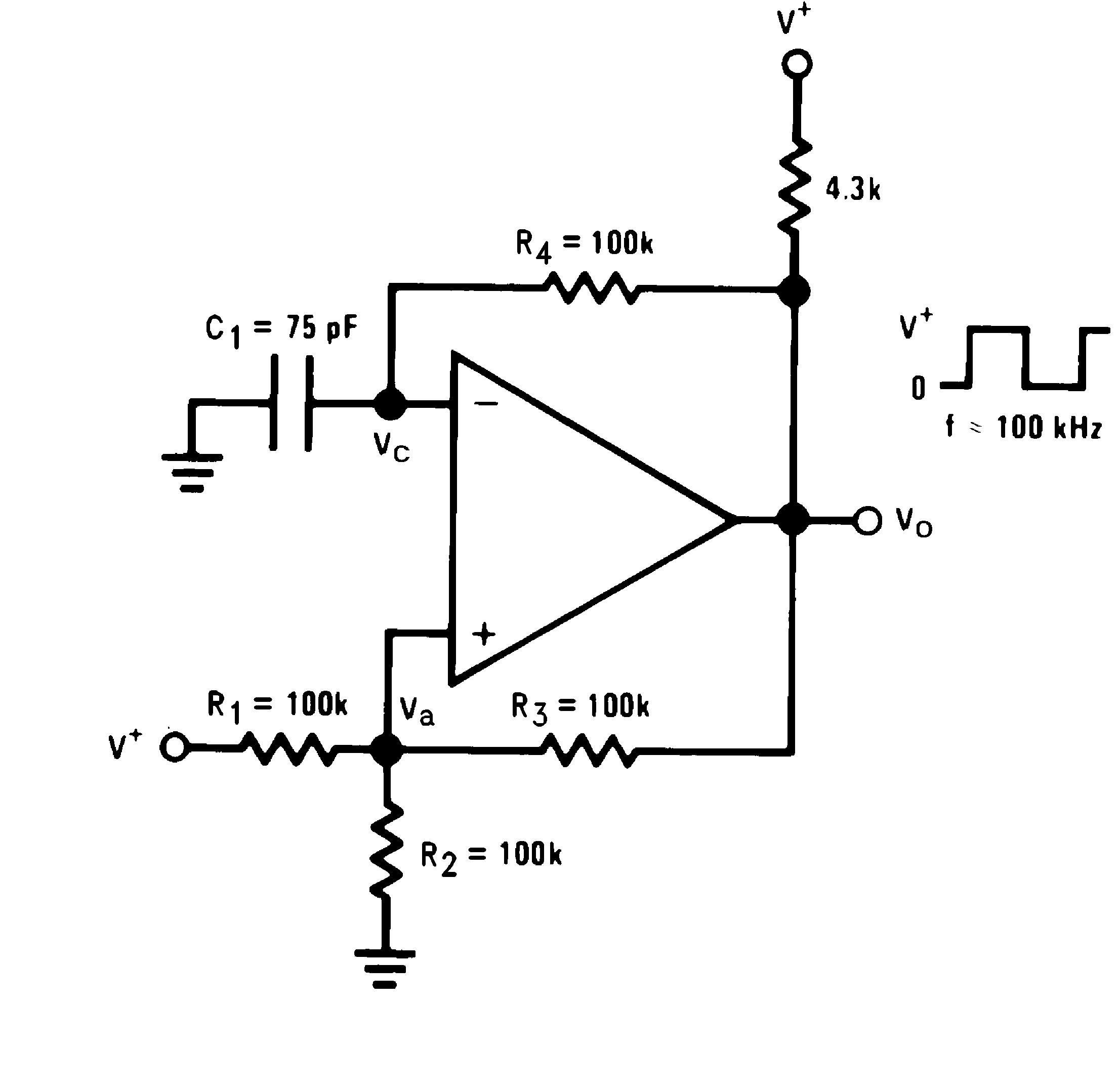 Lmv393 N Circuit Is Similar To The Transistor Version Of Hartley Oscillator 821 Squarewave