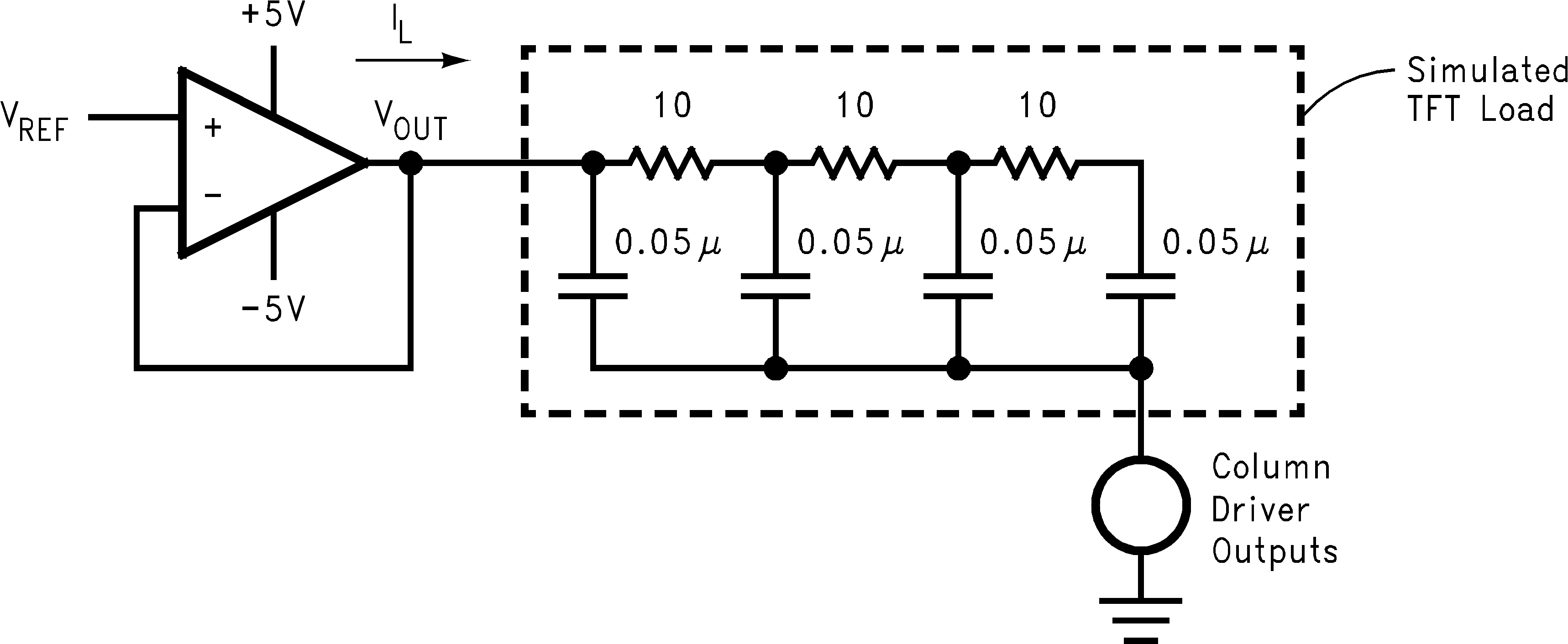 Lm8261 Turn A Compensated Current Sink Into Common Emitter Ce Amplifier Figure 56 Vcom Driver Application Schematic