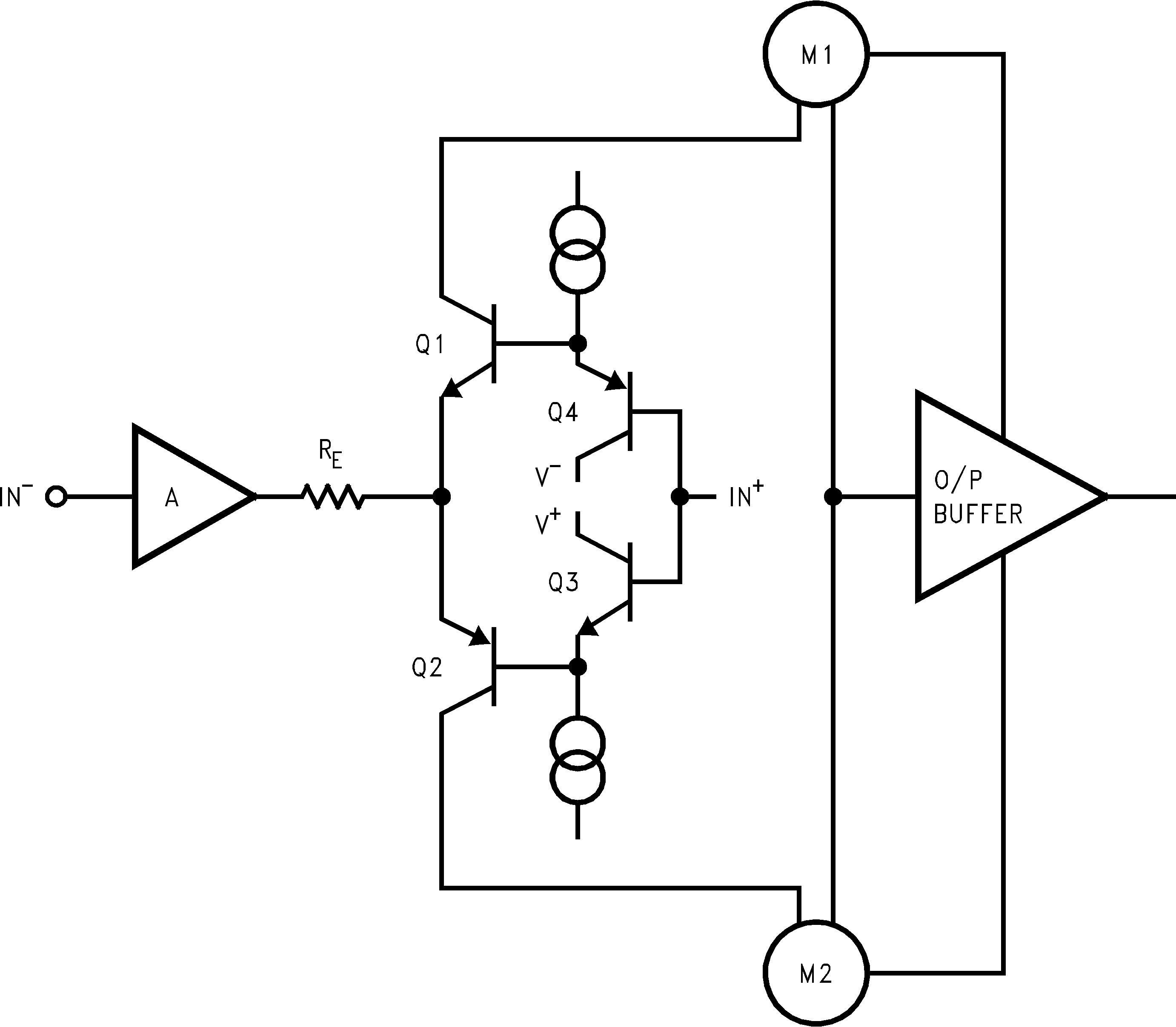 Lm7171 Circuit Diagram Of Amplifier Simplified Schematic