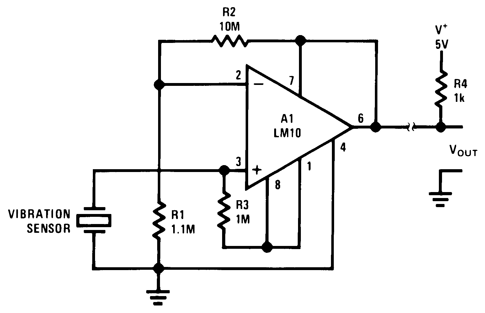 Schematic Diagram 500 Watts Amplifier Lm10 00565266
