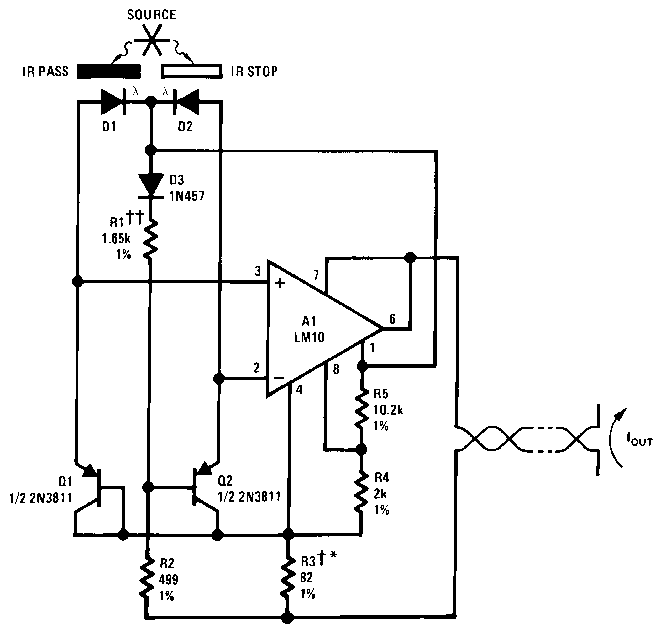 Lm10 Lm741 Pin Diagram Furthermore Op Pinout Connection 00565271