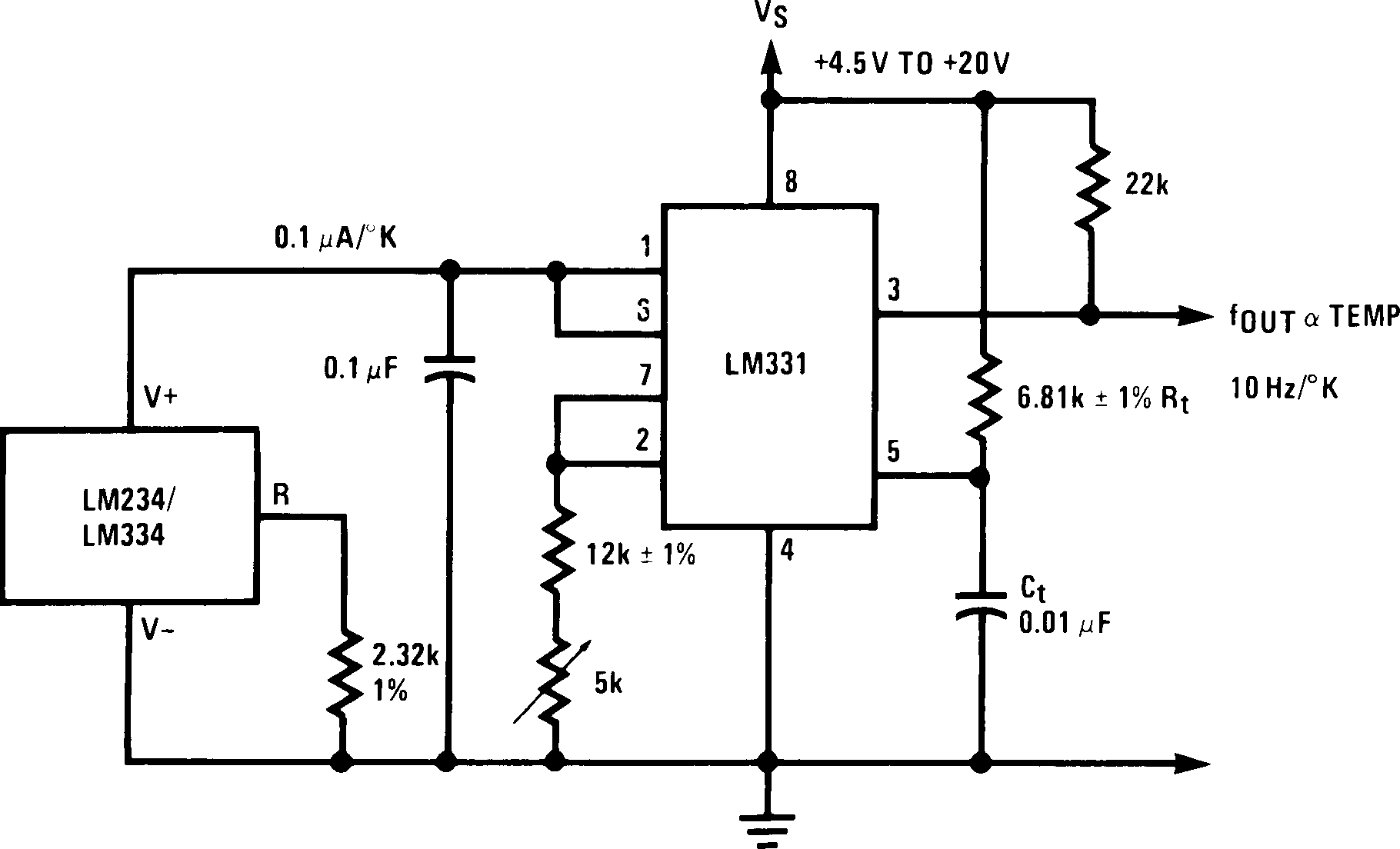 Lm331 F To V Converter Circuit Diagram Lm231 00568010