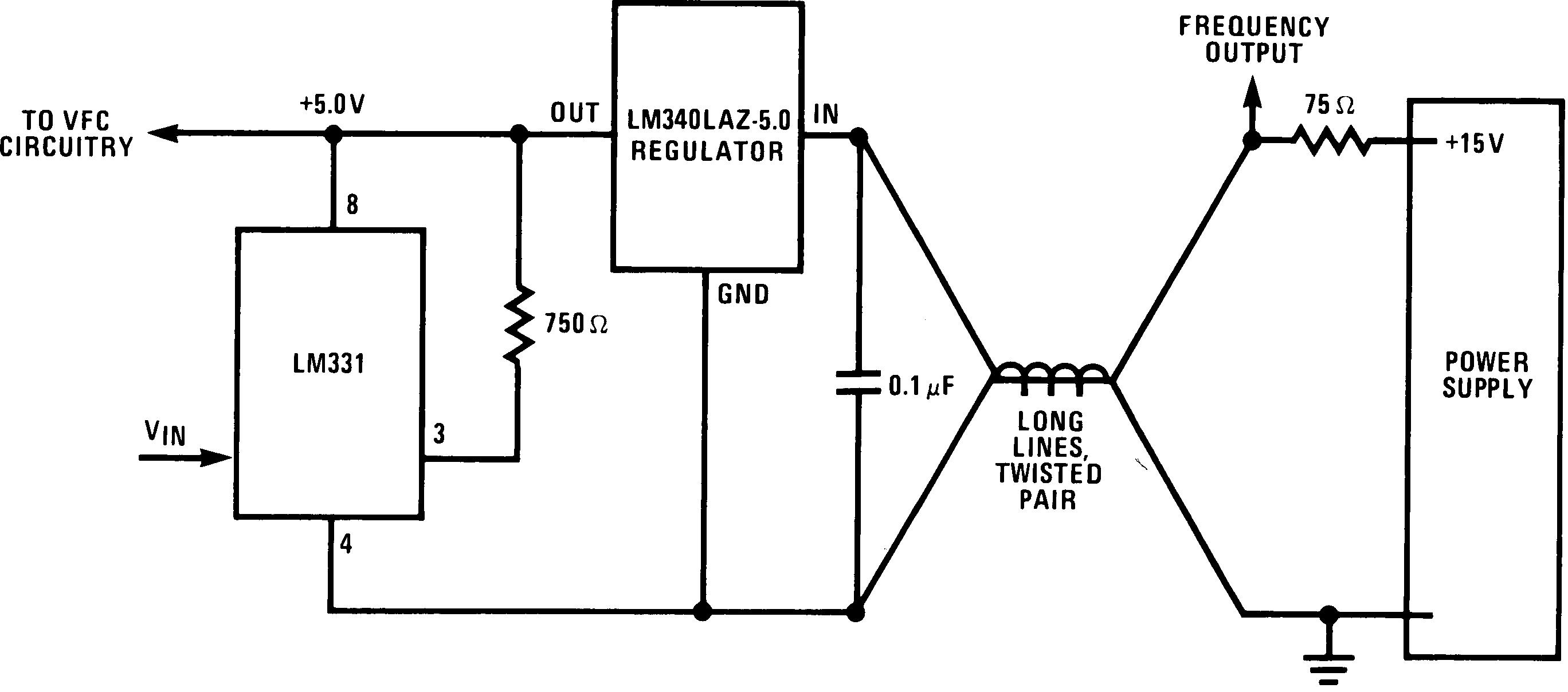 Frequency Converter Wiring Diagram Trusted Diagrams Basic Power Opamp Voltage Regulator Circuit Tradeoficcom Lm231 Tij Co Jp 50 Amp Rv