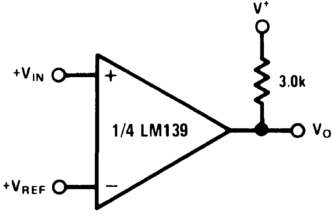 Lm239 N Circuit Diagram Of 4 Bit Comparator Basic Schematic