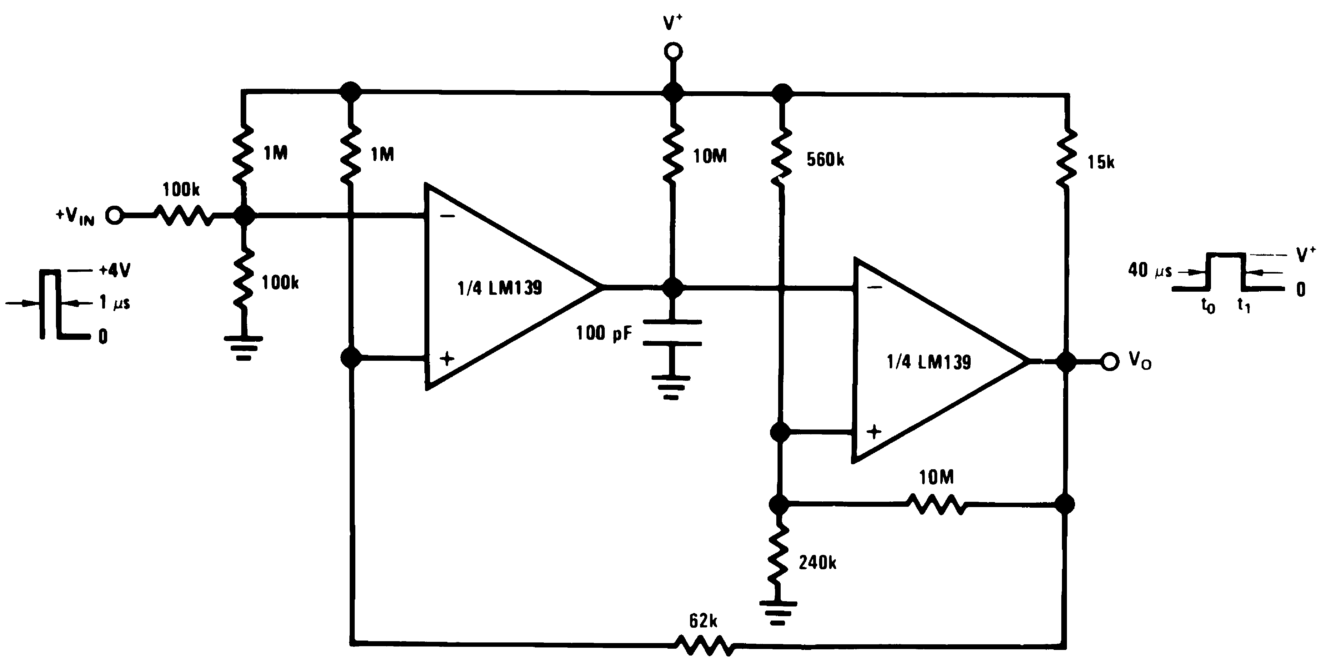 Lm239 N Often Called A One Shot Multivibrator Is Pulse Generating Circuit 00570612