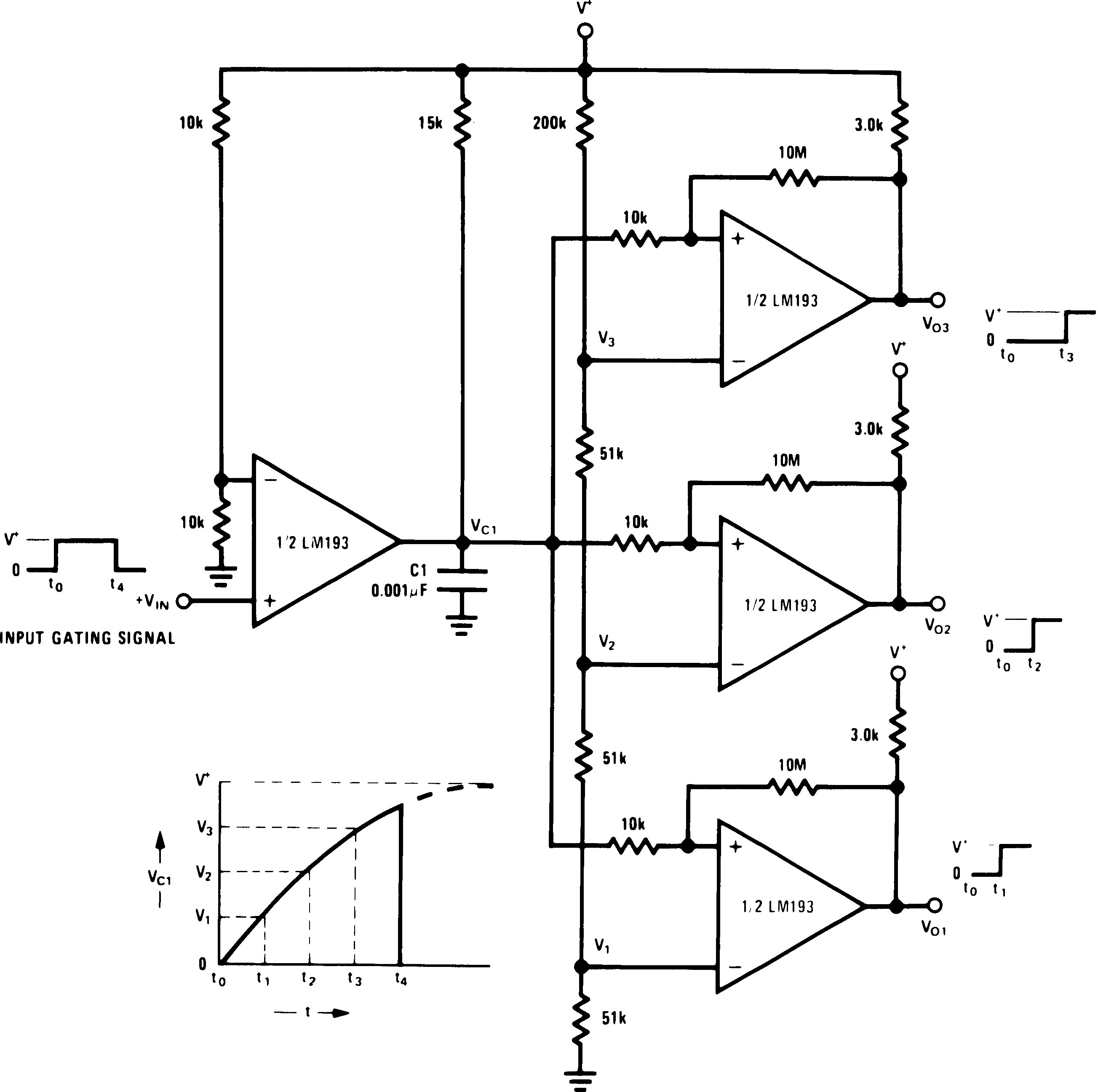 Lm193 N Simple Car Sound System Diagram Circuit Of Stereo Lm2903 Lm293 Lm393 00570907