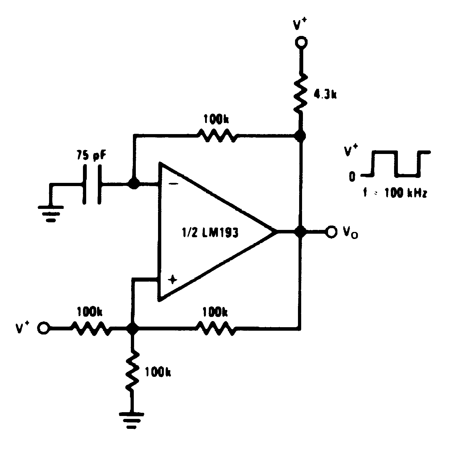 Lm2903 N Figure 1 Basic Bistable Circuit Configuration Using A 555 Timer Lm193 Lm293 Lm393 00570938 17