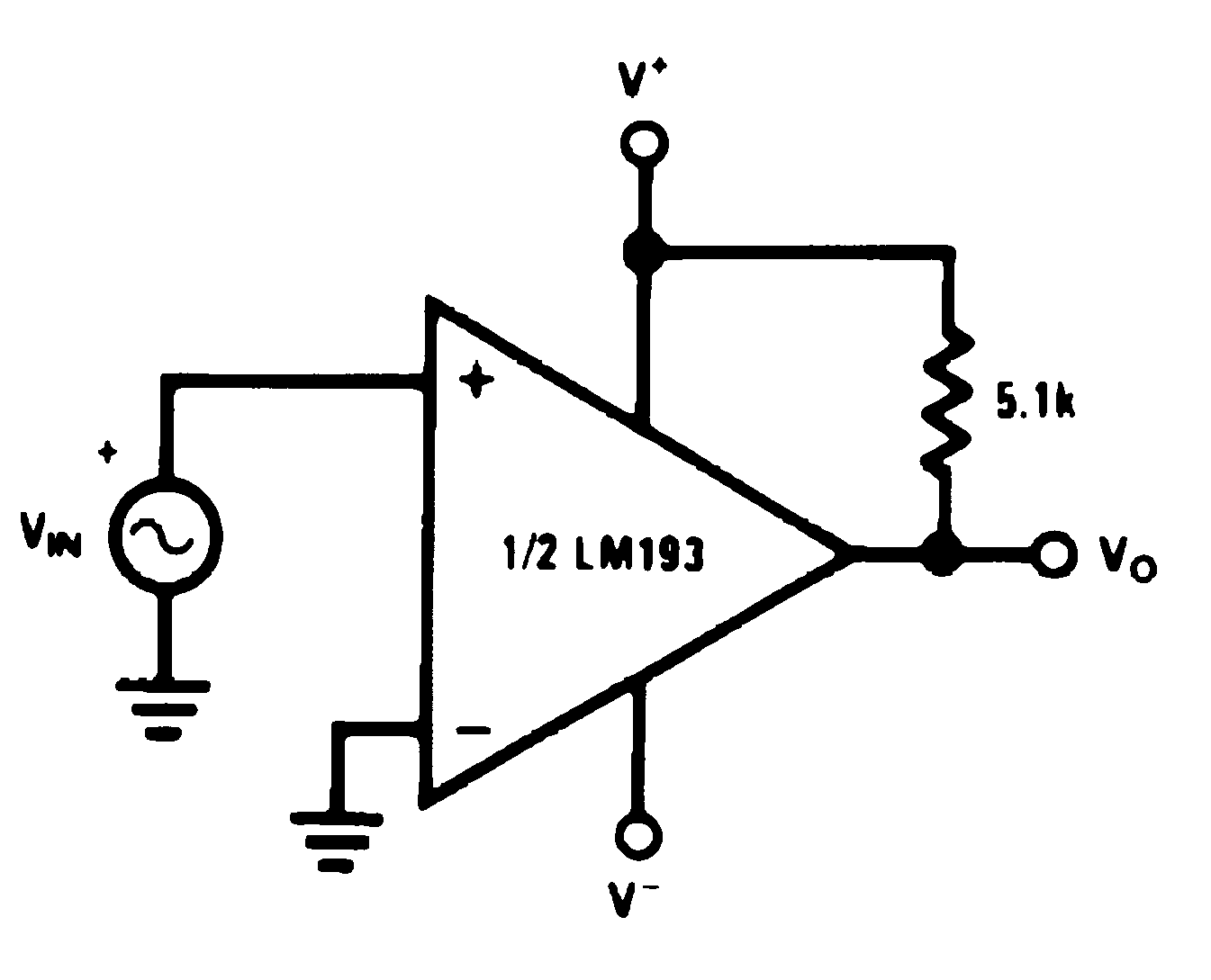 Lm193 N Zero Crossing Circuit Lm2903 Lm293 Lm393 00570943 Figure 35 Detector