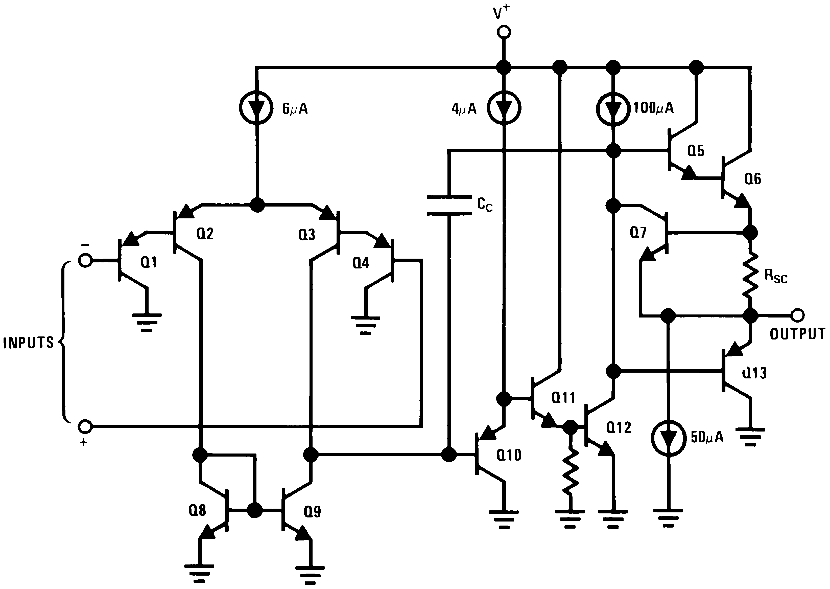 Lm2902 n low power quad operational amplifier tij 72 functional block diagram pooptronica Images