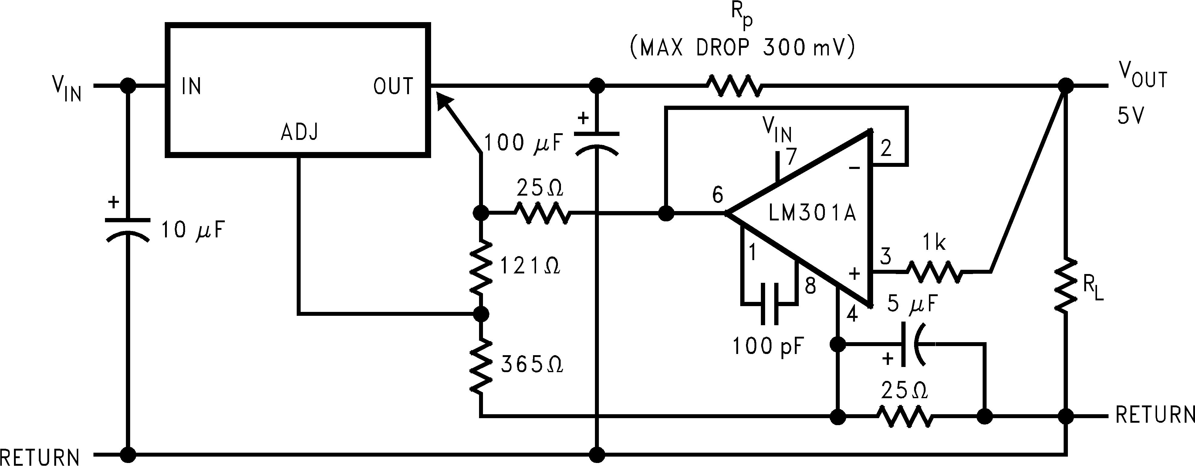 Lm1085 Power Regulator Circuit 10094758
