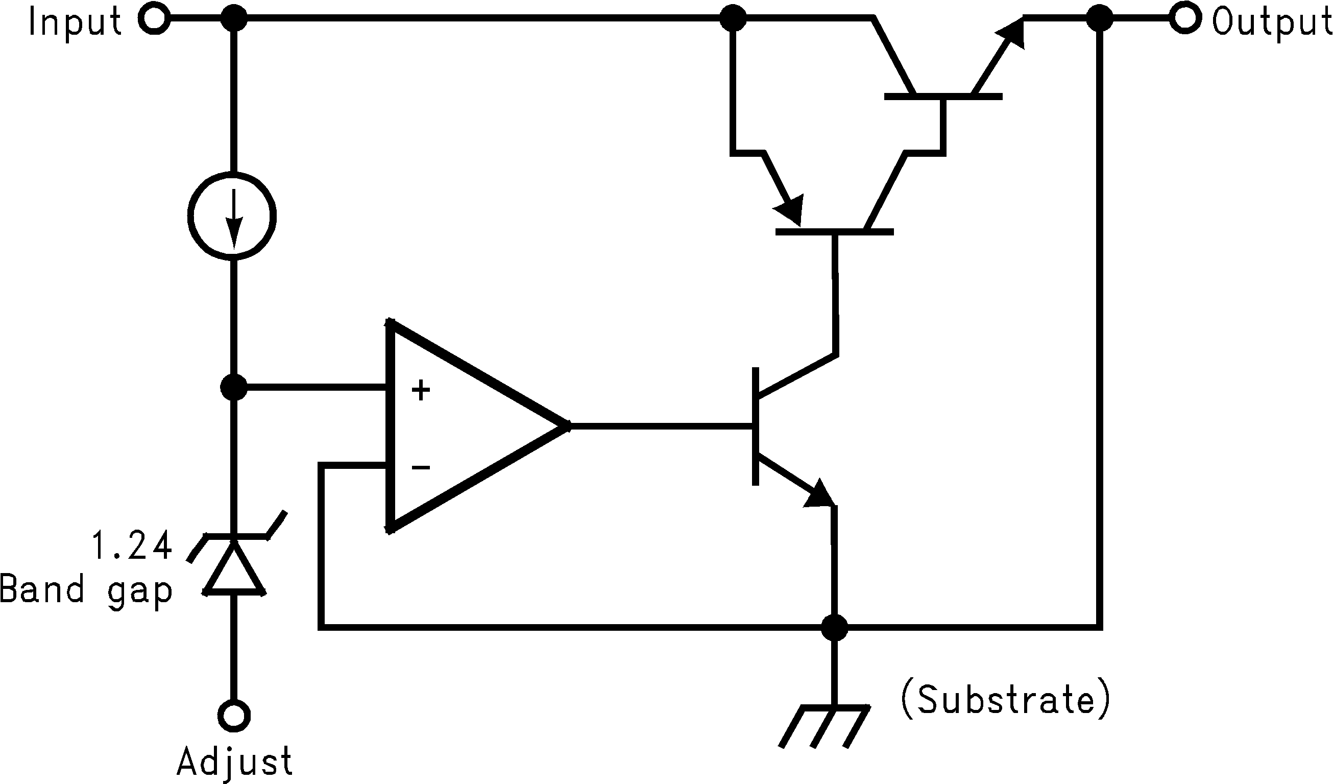Lm1085 Low Ripple Regulated Power Supply Circuit Diagram 10094765