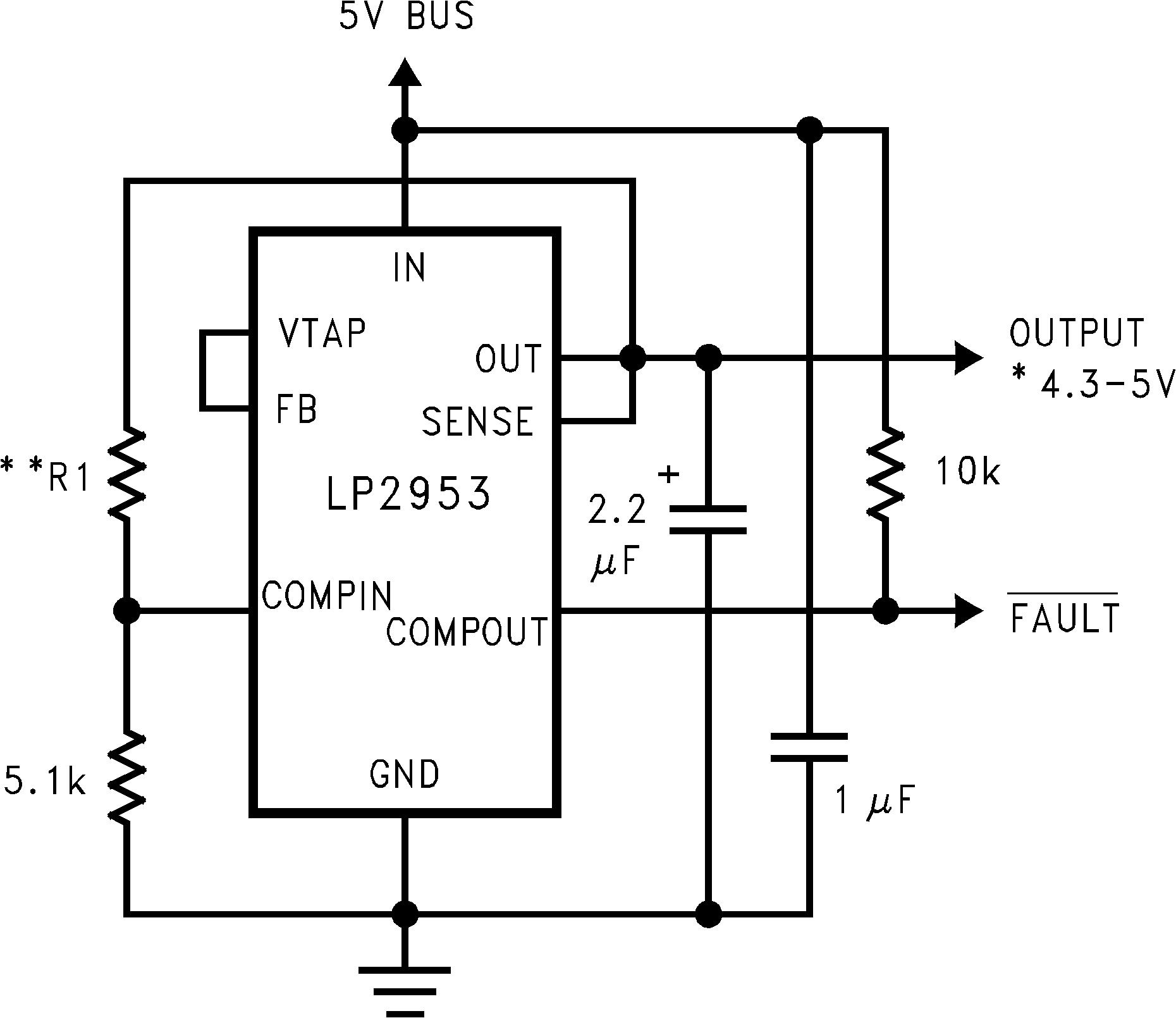 Lp2953 Load Circuit Lp2952 N Lp2952a Lp2953a 01112716