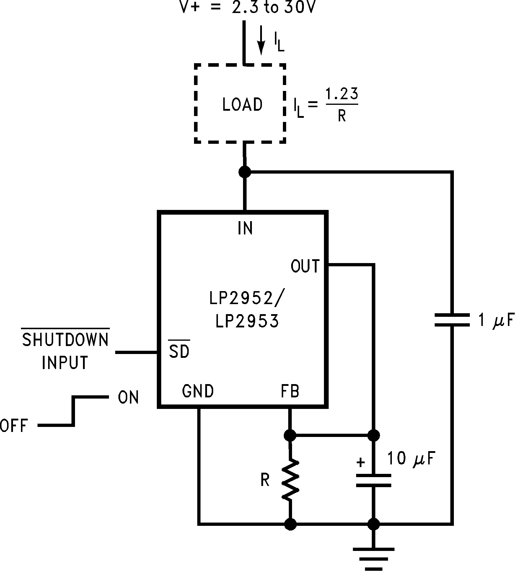 Lp2953 Voltagecontrolledcurrentsink Addaconvertercircuit Circuit Lp2952 N Lp2952a Lp2953a 01112717 Figure 37 Low Temperature Coefficient Current Sink