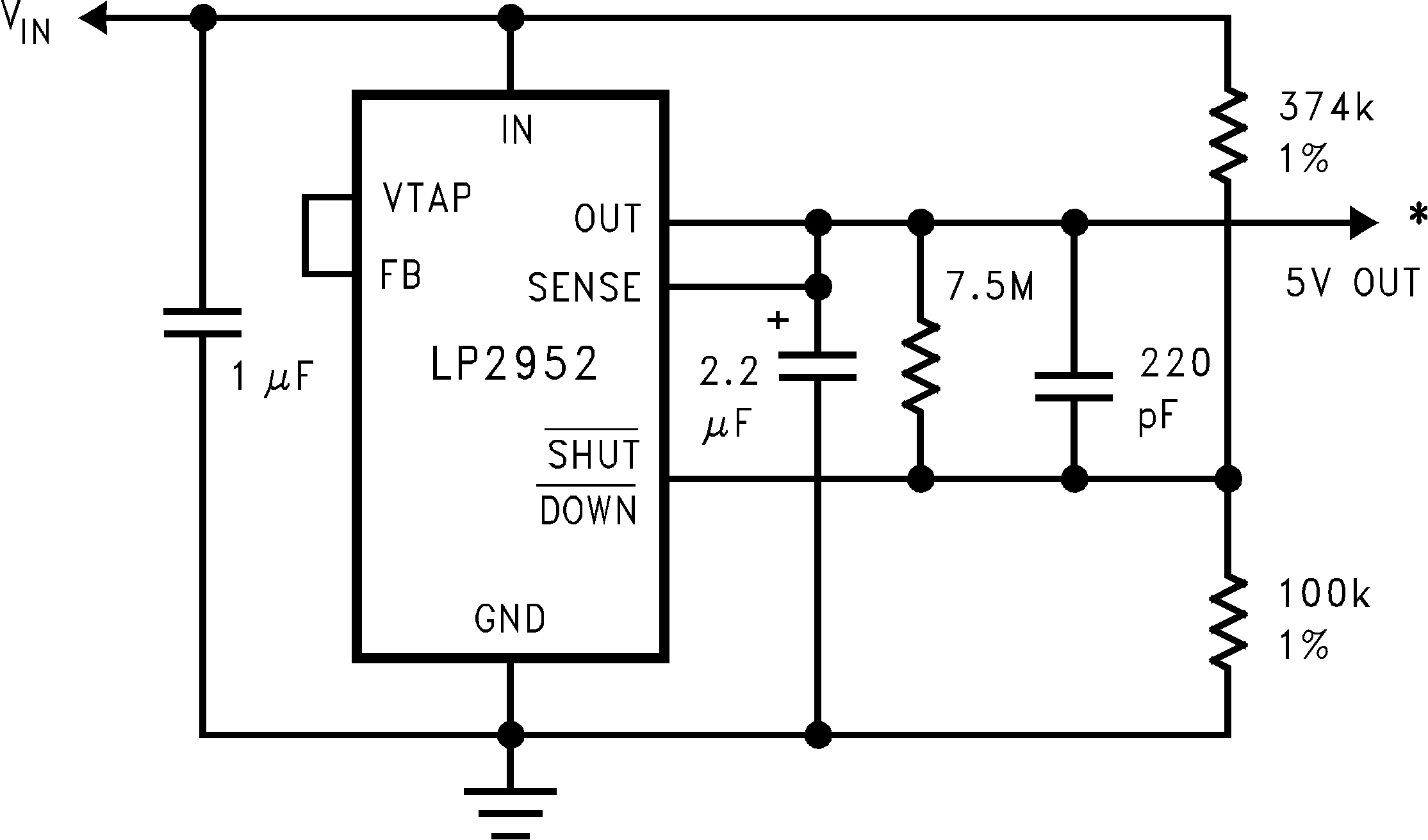 Lp2953 Simple Current Limiter Protects Opencollector Circuit Lp2952 N Lp2952a Lp2953a 01112722