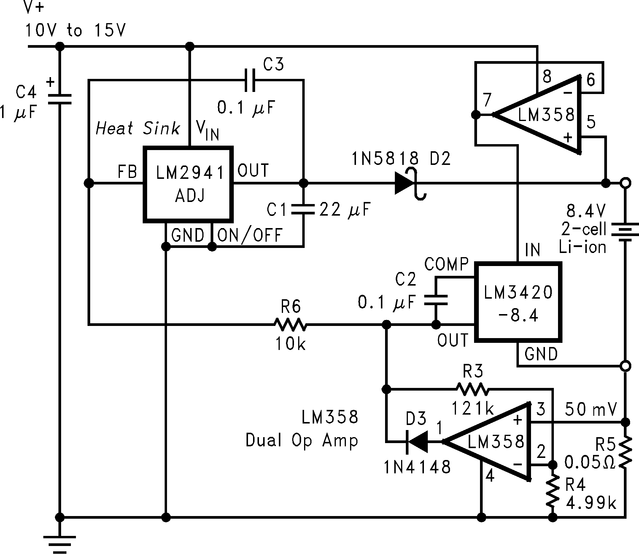 Lm3420 Solar Battery Charger Circuit Diagram 01235913