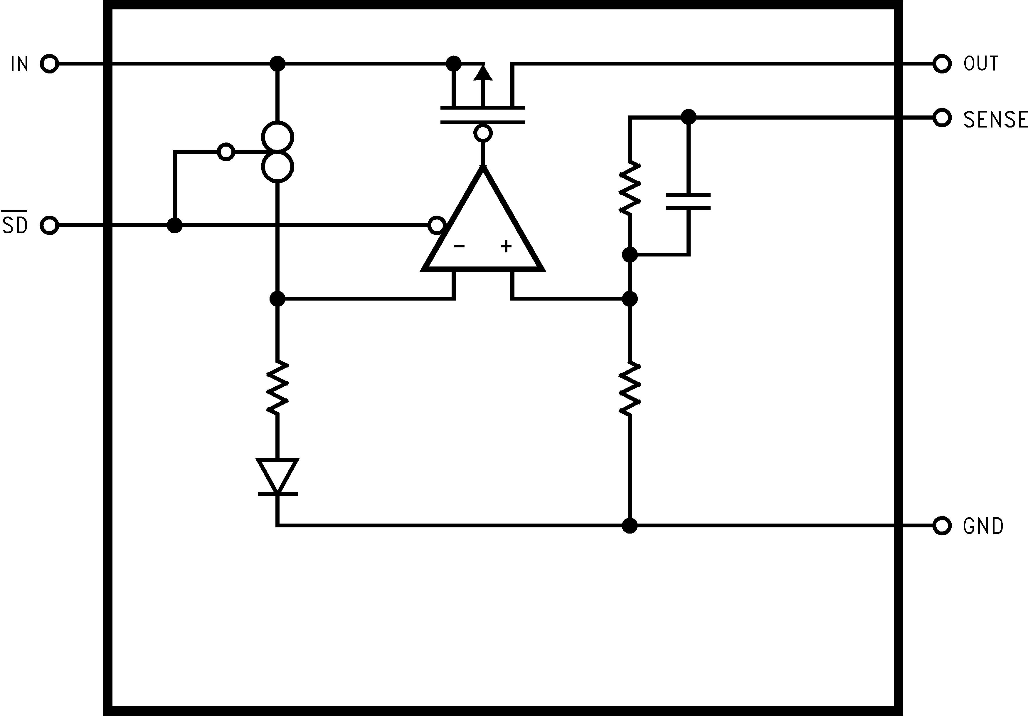 Lp3855 Block Diagram Diagrams Functional Lp3852 20031029