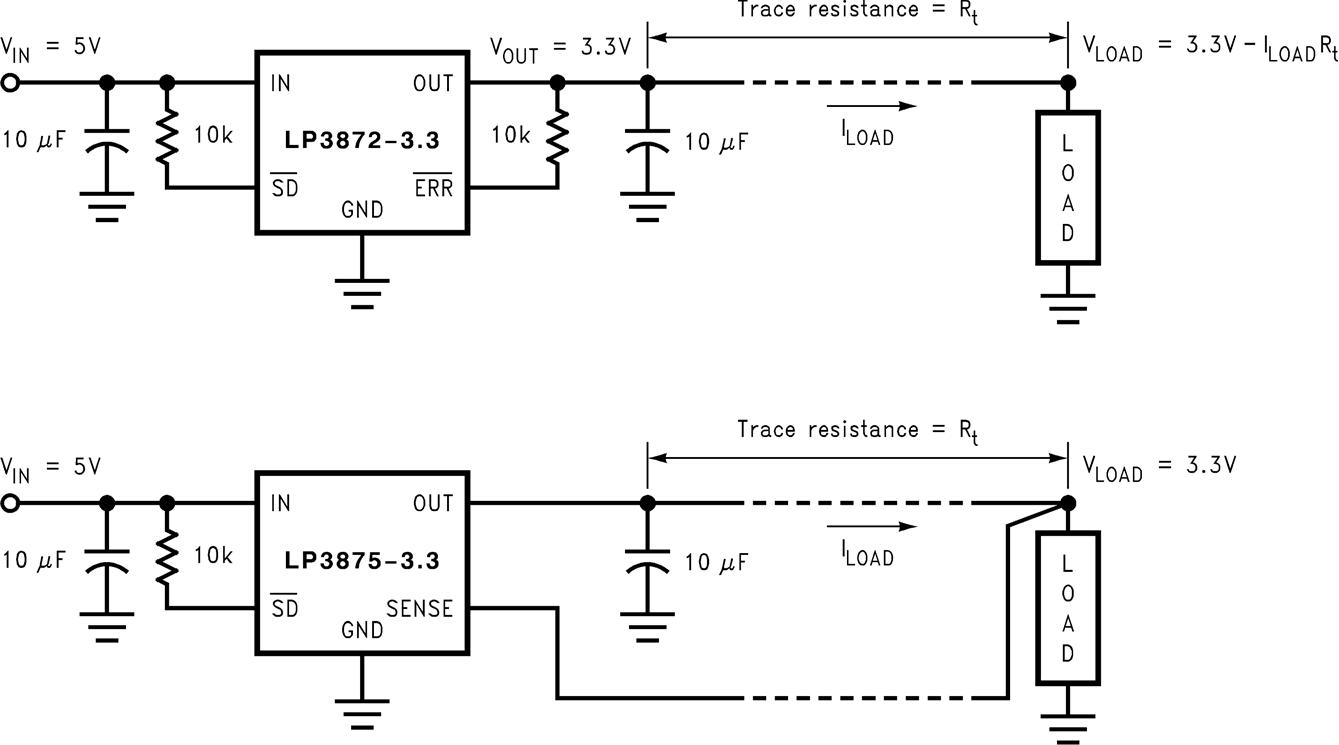 Lp3872 Short Circuit Diagram 733 Protection